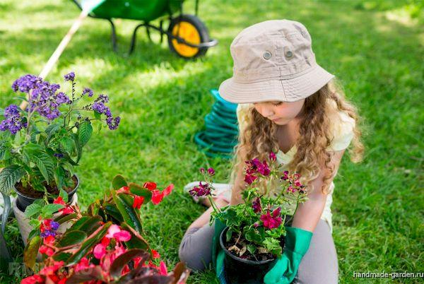Создаем детский огород на даче