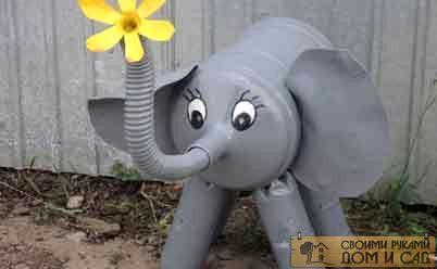 слоник поделка