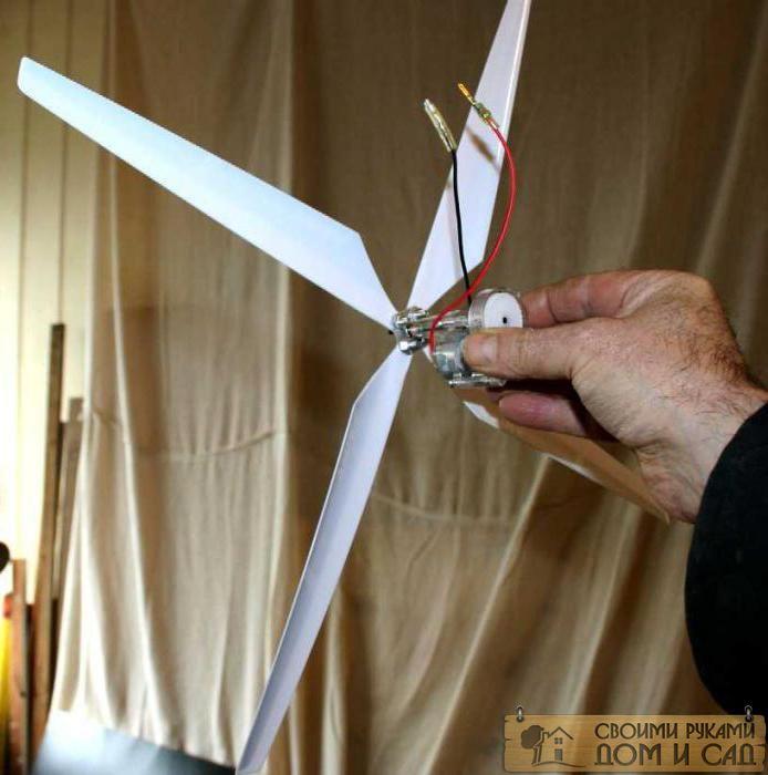 как сделать ветроген…