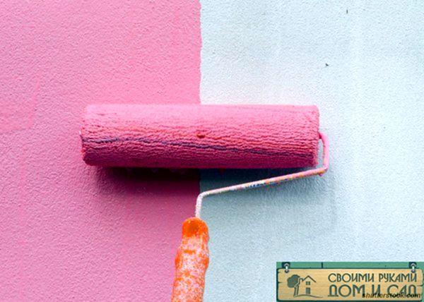Как удалить краску со стен?