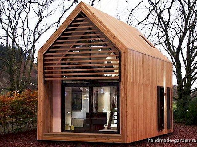 Как построить садовый домик для дачи своими руками?