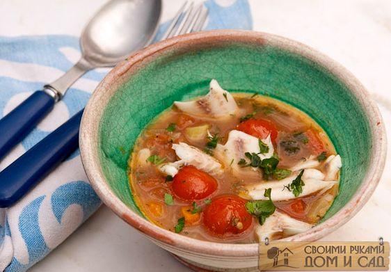 рыбный суп из консервы сайра