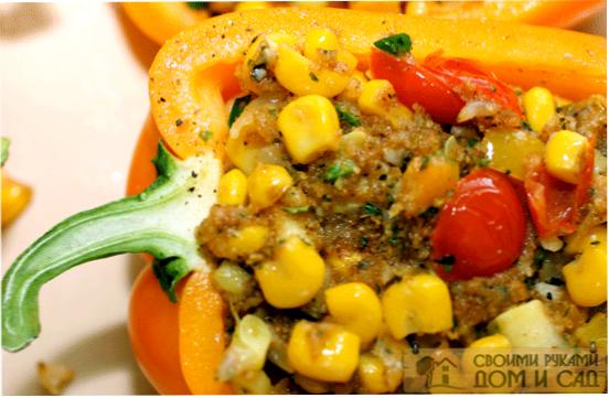 вкусные овощи в духо…