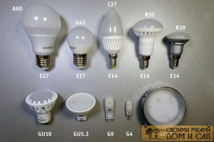 4. Какие бывают свет…
