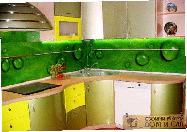 как правильно установить стеновую панель на кухне