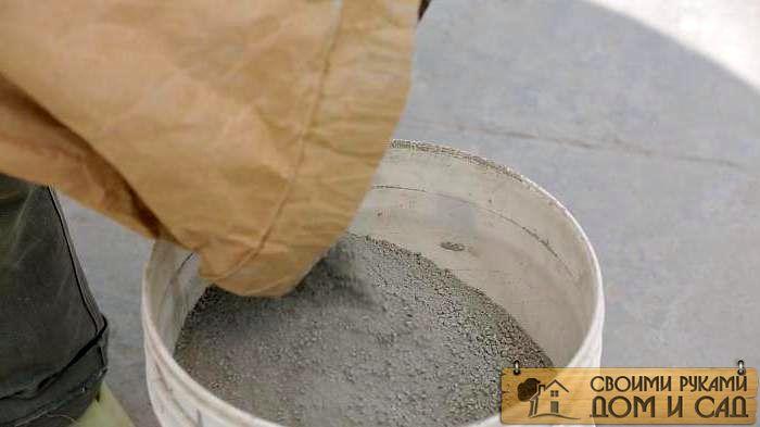 Цементный раствор пропорции и добавки бетон крышка