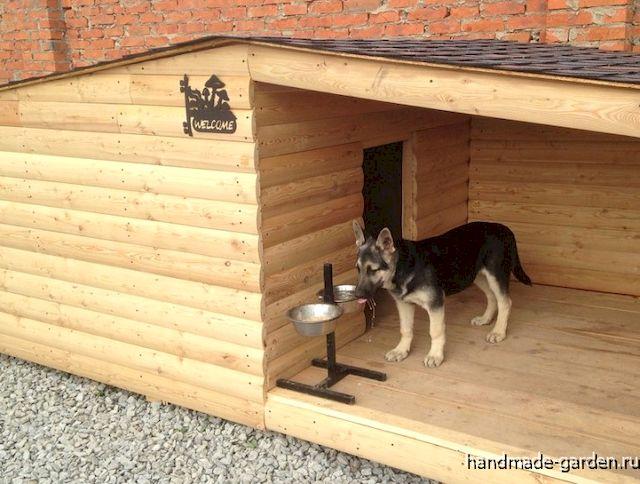 Какой должна быть будка для собаки