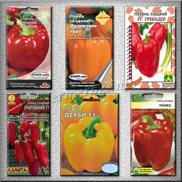 Какие сорта перца самые урожайные?