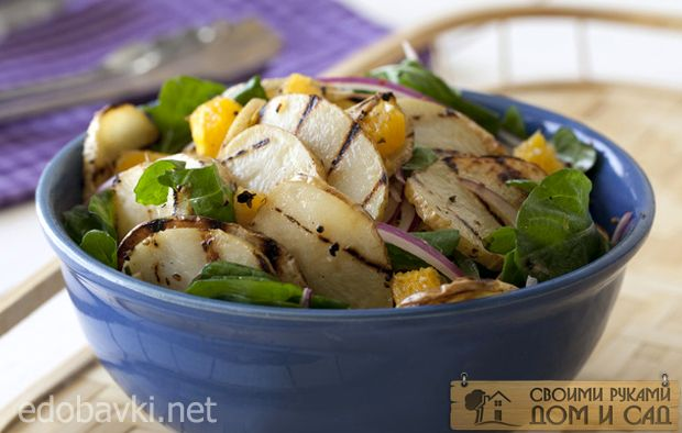 Салат с картофелем-г…