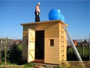 Бак для воды на крыш…