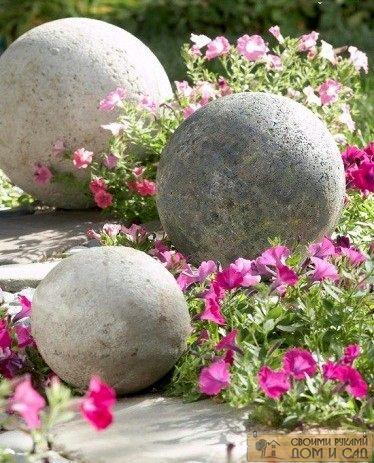 украшаем сад