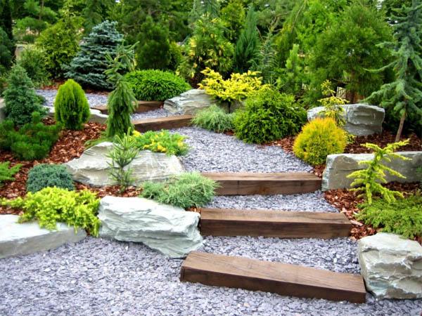 Садовые дорожки по правилам фэн-шуй