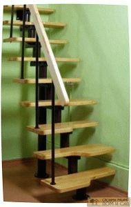 лестница мансардная