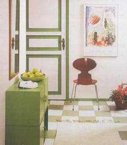 Выбор цвета комнаты