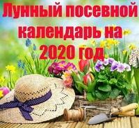 Лунный посевной календарь садовода и огородника на 2020