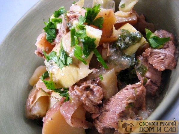Картошка с тушенкой еда, история, ссср