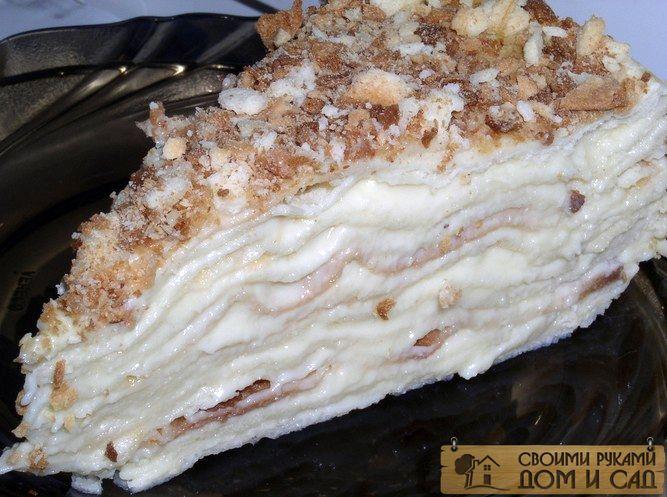 Торт «Наполеон» еда, история, ссср
