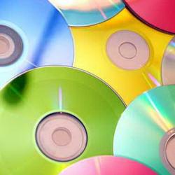 Поделки из CD-дисков для дачи