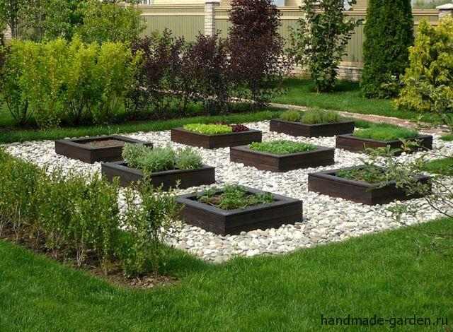 Грядки для ленивого огорода