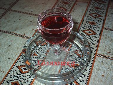готовое рябиновое вино фото