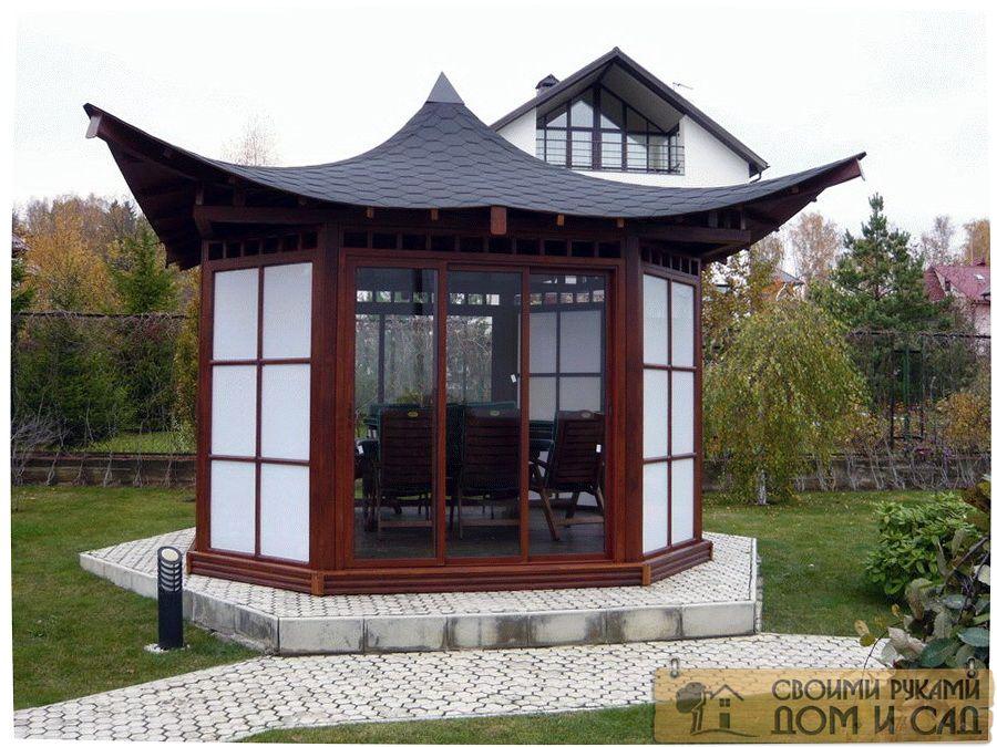 беседка-пагода