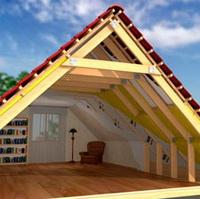 Строительство мансарды дома