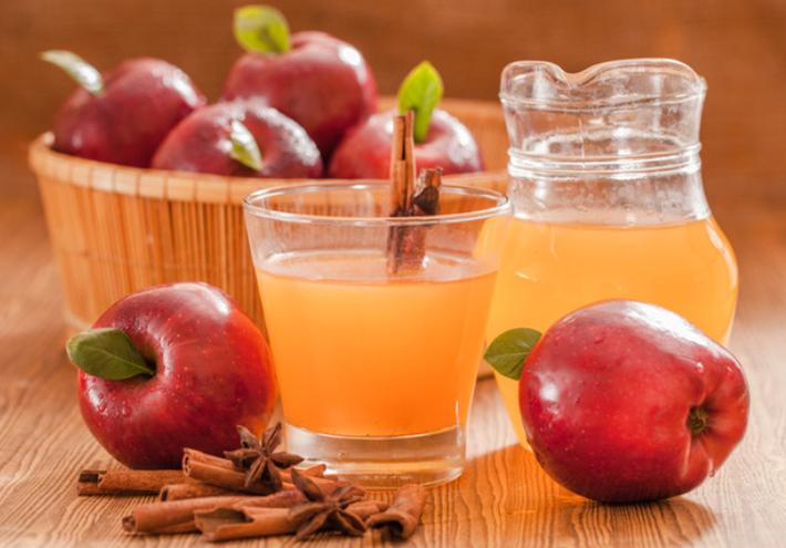 Яблочный сидр в домашних условиях с мёдом